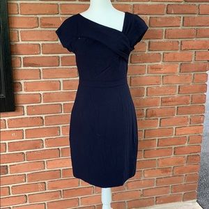 J crew suiting dress in navy size 2